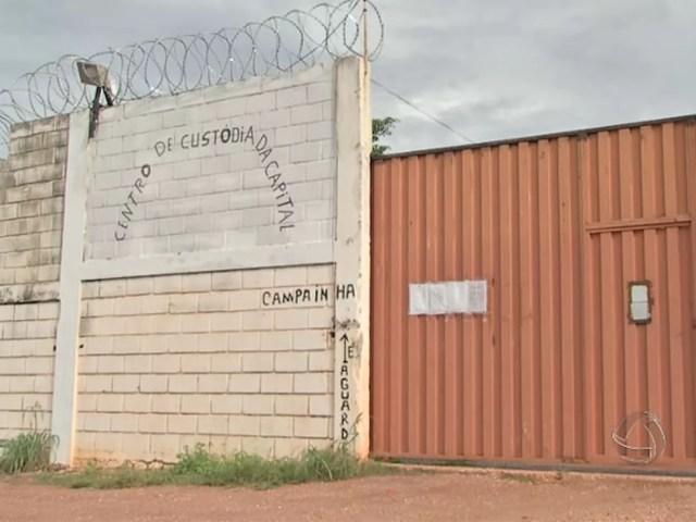 Centro de Custódia de Cuiabá (CCC). (Foto: Reprodução/TVCA)