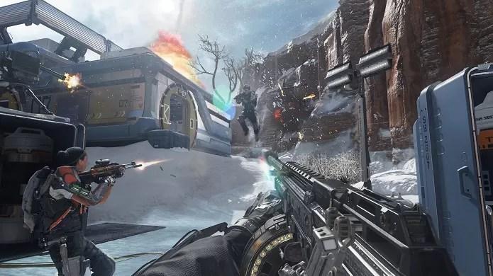 Advanced Warfare é o primeiro episódio da saga futurista (Foto: Divulgação)
