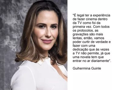 Guilhermina Guinle will return as Pia TV Globo