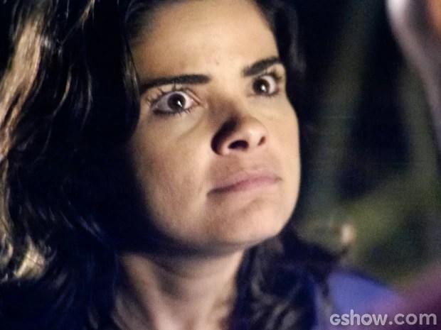 Aline dá ordem a Ninho com sangue nos olhos (Foto: Amor à Vida/TV Globo)