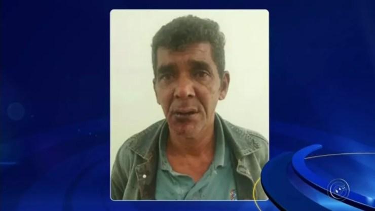Suspeito de atirar na ex em Agudos foi preso em flagrante (Foto: Reprodução/TV TEM)