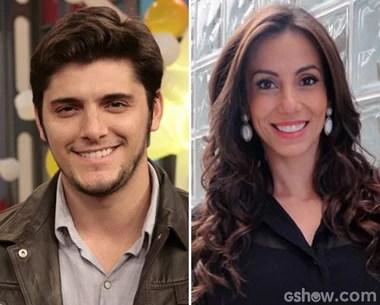 Bruno Gissoni e Tania Khalill participam do Encontro desta quinta-feira (Foto: Encontro com Fátima Bernardes / TV Globo)