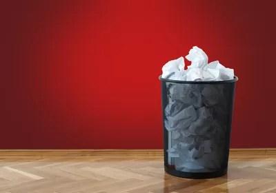 Lixeira Lixo (Foto: Shutterstock)