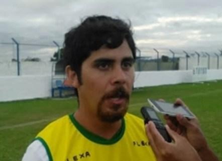 Técnico Javier Diaz (Foto: Flamengo de Arcoverde/Divulgação)