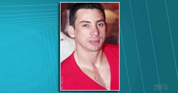 Ademir Gonçalves, de 39 anos, morreu logo após ser abordado por fiscais na aduana da Ponte da Amizade, em Foz do Iguaçu — Foto: Reprodução/RPC