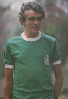 Chico Anysio, com a camisa do Palmeiras (Foto: Acervo histórico da S.E. Palmeiras)