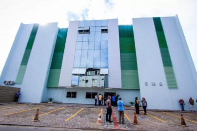 Secretaria Municipal de Saúde de Maceió — Foto: Divulgação/Secom Maceió