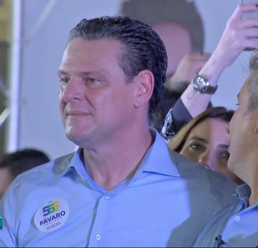 Carlos Fávaro (PSD), candidato ao Senado — Foto: TVCA/ Reprodução
