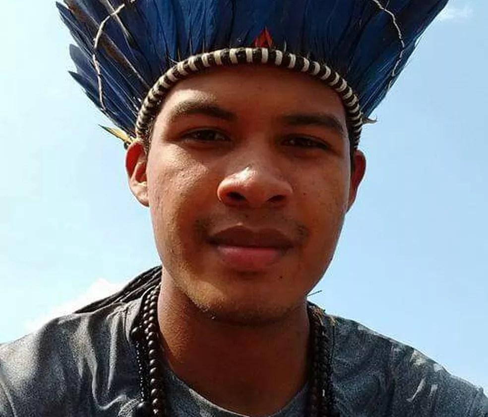 Indígena foi aprovado em dois cursos na UFT (Foto: Arquivo Pessoal)