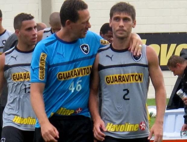 Fellype gabriel botafogo treino (Foto: Thales Soares / Globoesporte.com)