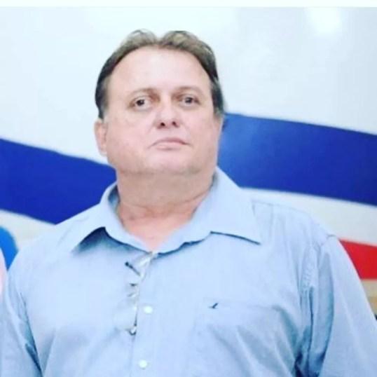 Talmir Rosa, irmão de Fábio Gentil — Foto: Divulgação/Prefeitura de Caxias