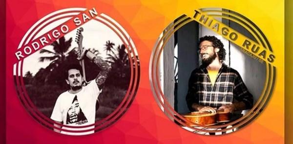 Rodrigo San e Thiago Ruas — Foto: Reprodução