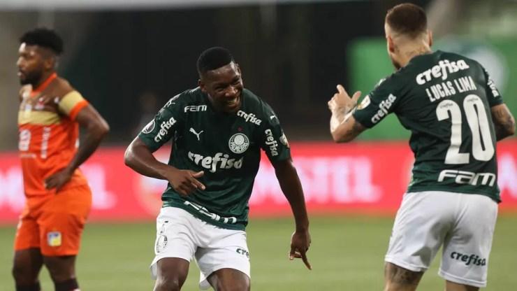 Patrick de Paula retorna para retomar o embalo com Abel Ferreira — Foto: Cesar Greco/Ag. Palmeiras