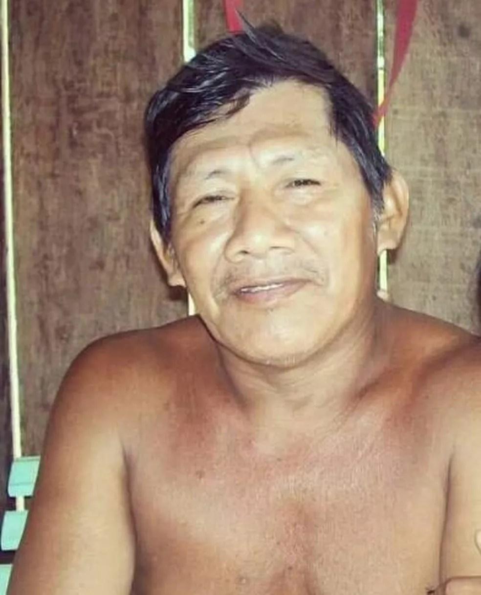 Gumercindo da Silva Karitiana é o primeiro indígena a morrer com Covid-19 em Rondônia.  — Foto: Reprodução/Arquivo pessoal