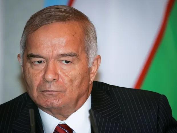 Islam Karimov, de 78 anos, teve derrame cerebral no sábado (Foto: Shamil Zhumatov/Reuters)
