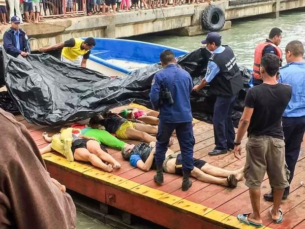 caribe Naufrágio no mar do Caribe deixa 13 turistas mortos; brasileira sobrevive