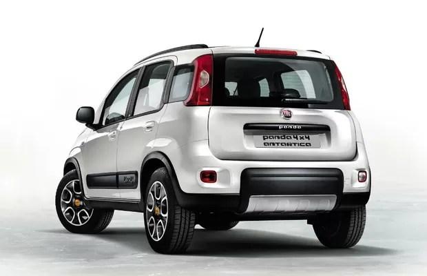 Fiat Panda 4x4 Antartica (Foto: Divulgação)
