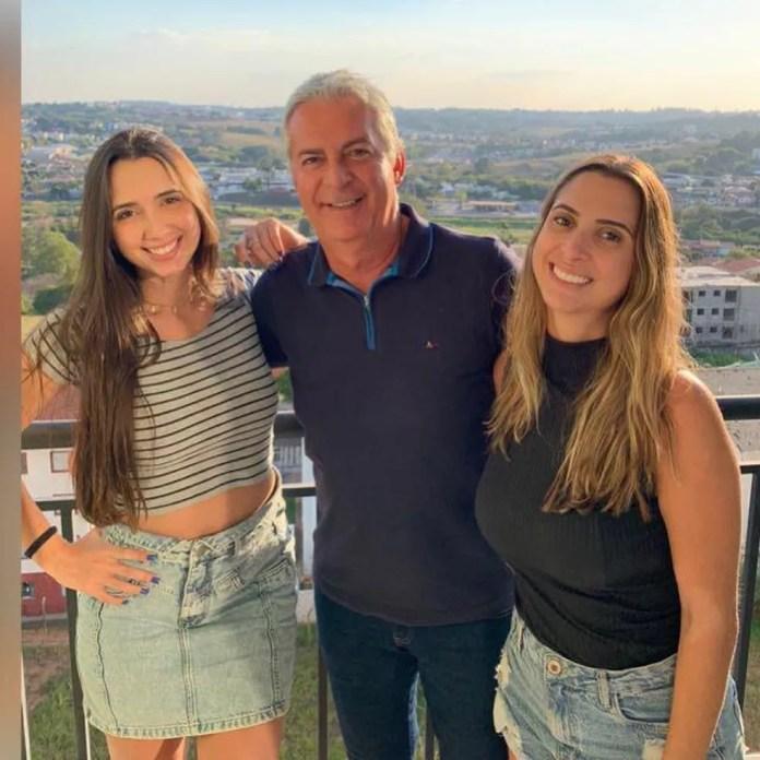 João José deixa duas filhas — Foto: Myllena Haddad/Arquivo pessoal