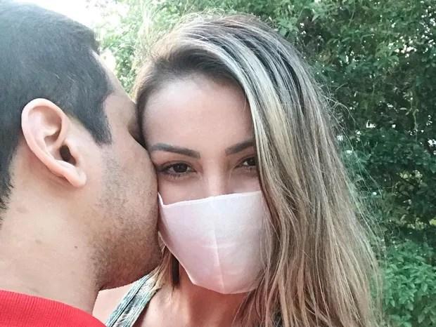 Andressa Urach e namorado (Foto: Reprodução/Instagram)