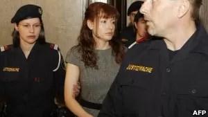 Estibaliz Carranza, a 'dama de gelo', confessou o assassinato e o esquartejamento dos homens (Foto: AFP)