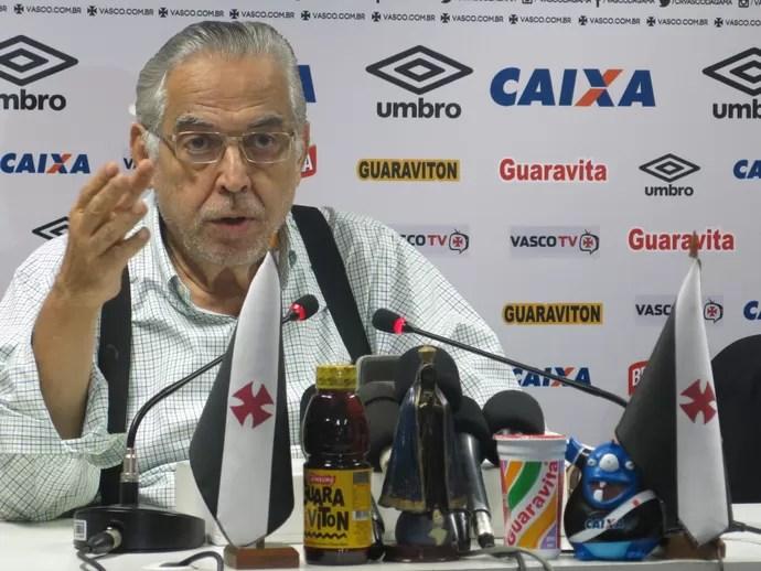 Eurico Miranda, presidente do Vasco (Foto: Edgard Maciel de Sá)