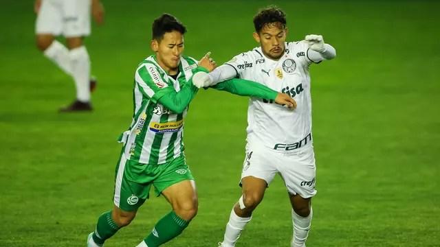 Chico e Gustavo Scarpa - Juventude x Palmeiras