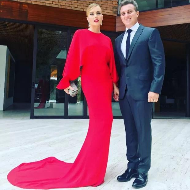 Angélica e Huck prontos para o casamento (Foto: Reprodução Instagram)