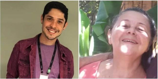 Alexandro Mateus e a tia foram encontrados mortos dentro de casa — Foto: Reprodução/Arquivo Pessoal