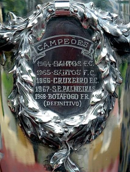 Taça Brasil do Botafogo, de 1968 (Foto: Cezar Loureiro / O Globo)