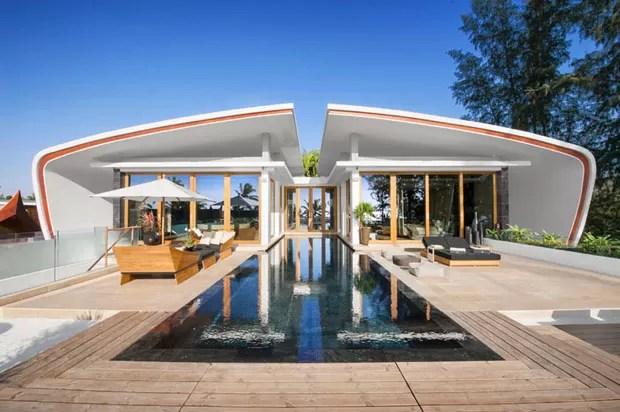 Arquitetura E Futurismo Beira Mar Casa Vogue Casas