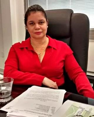 A procuradora de Justiça Patrícia Amorim Rêgo fala sobre plano  (Foto: Denis Henrique/G1)
