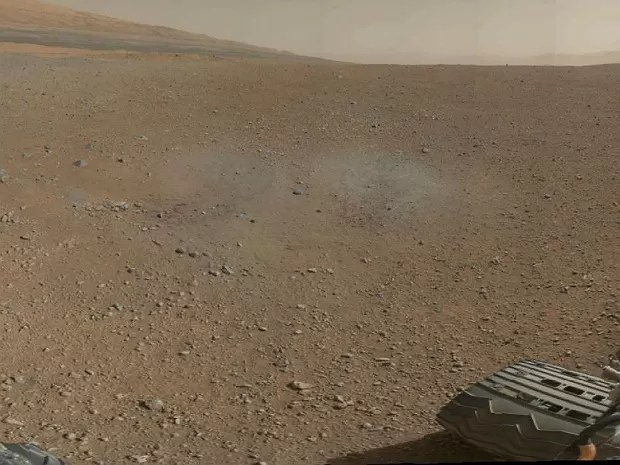 Marte colorida (Foto: Nasa/JPL-Caltech/MSSS)