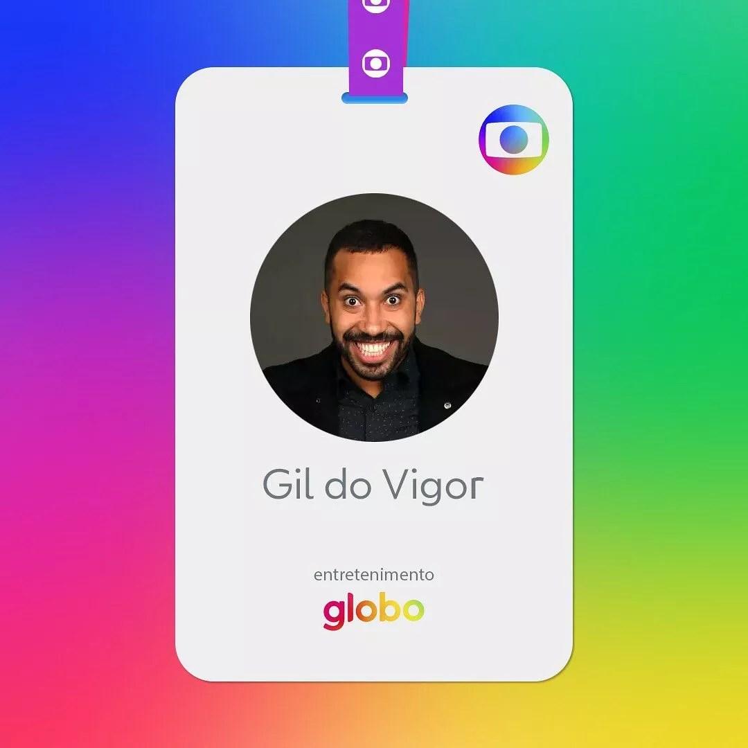 Gil Nogueira: contratado pela Globo (Foto: Reprodução Instagram)
