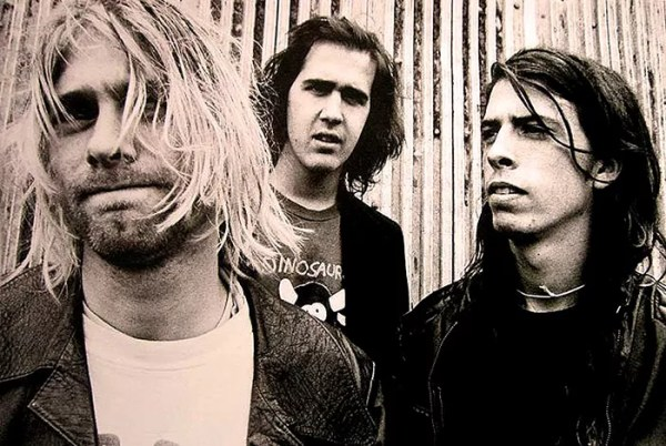 Kurt Cobain and Dave Grohl at the time of Nirvana (Photo: Reproduction)