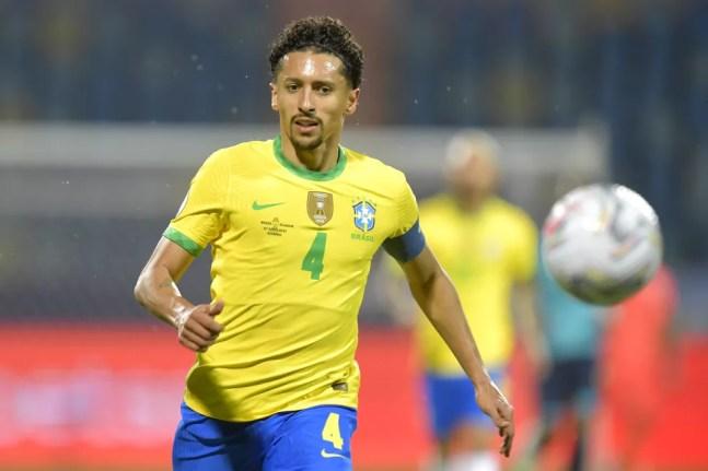 Marquinhos é citado por Baresi como o melhor zagueiro brasileiro hoje em dia — Foto: Pedro Vilela/Getty Images