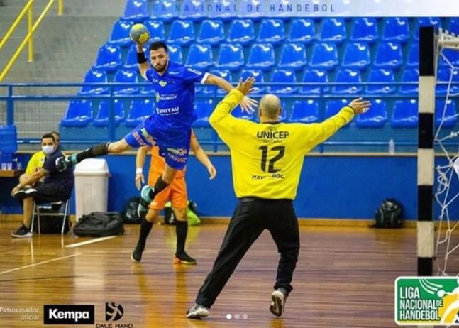 Handebol masculino - Liga Nacional — Foto: Divulgação