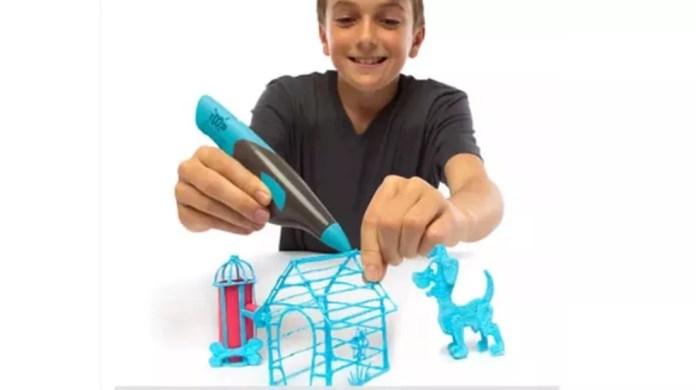 Caneta 3D da Multilaser pode ser comprada unitariamente ou em kits com quatro ou oito (Foto: Divulgação/ Multilaser)