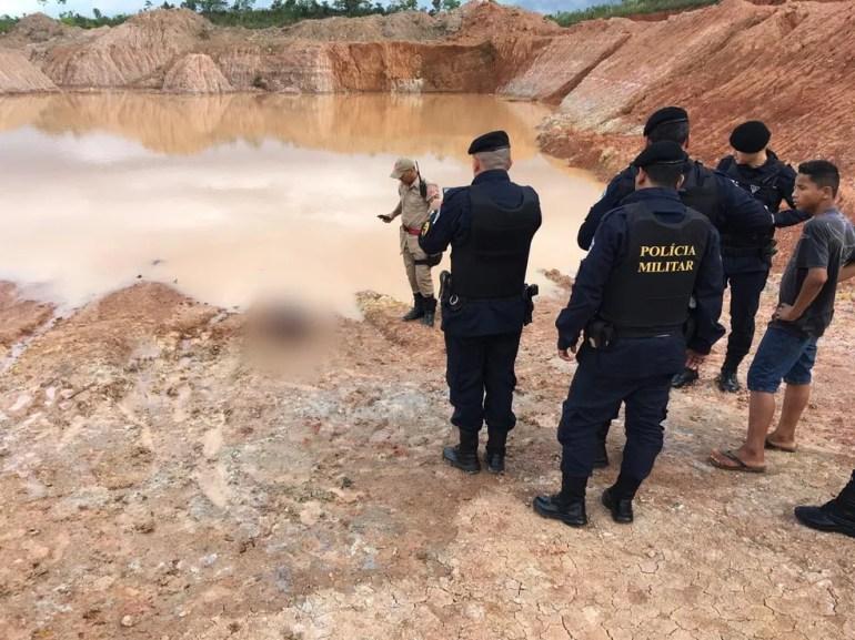 Criança já estava sem sinais vitais quando Bombeiros chegaram — Foto: Corpo de Bombeiros/Divulgação