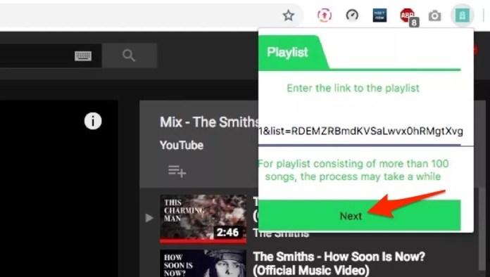 Como escutar playlist do Youtube no Spotify