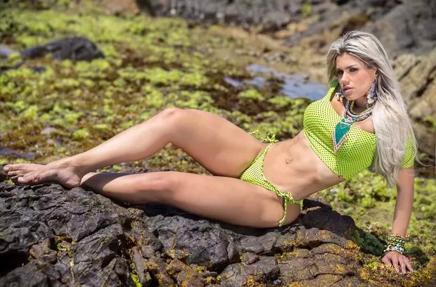 Janaína Santucci posa para novo ensaio (Foto: Bennerlan Diesel/MF Models)