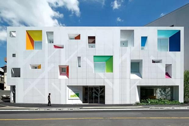 Agência Ekoda do Banco Sugamo Shinkin, no Japão, 2012, projeto de Emmanuelle Moureaux (Foto: divulgação)