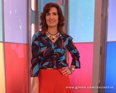 Look do dia 09/07 (Foto: Encontro com Fátima Bernardes/TV Globo)