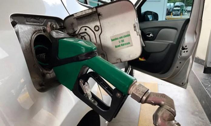 Gasolina pressionou para baixo a prévia da inflação de julho — Foto:  Licia Rubinstein/Agência IBGE Notícias