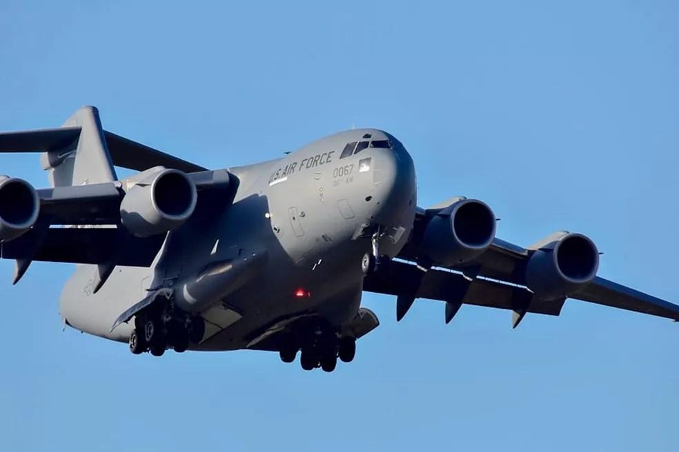 aviao eua - Mais de 100 aeronaves e 14 países participam de exercícios de guerra em Natal