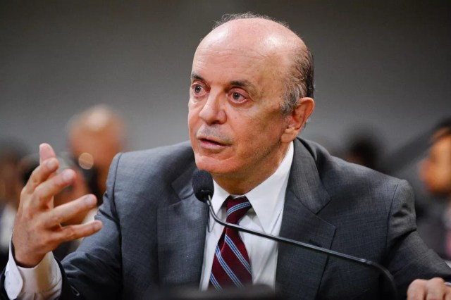 Imagem mostra o senador José Serra (PSDB-SP) (Foto: Edilson Rodrigues/Agência Senado)