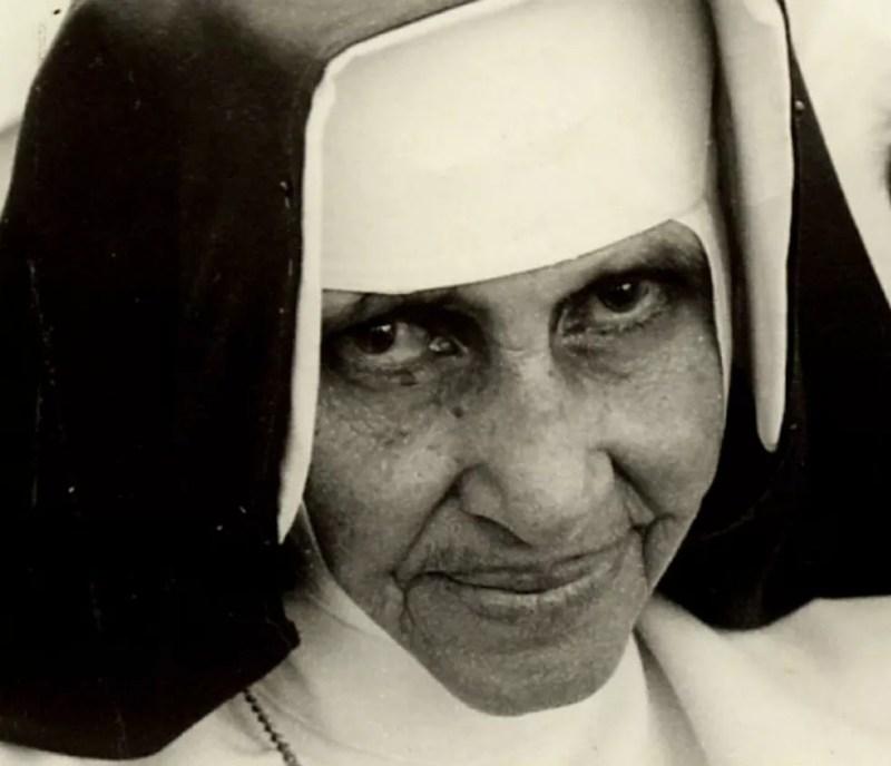 Irmã Dulce é uma das religiosas baianas mais populares do Brasil e se tornará santa — Foto: Divulgação / Obras Sociais Irmã Dulce