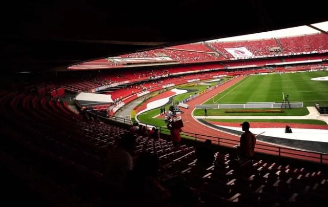 São Paulo x Corinthians Morumbi (Foto: Marcos Ribolli / Globoesporte.com)