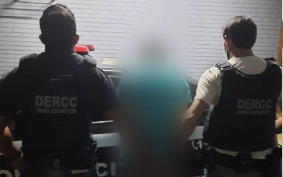 Jovem é preso suspeito de estupro, em Pires do Rio, Goiás — Foto: Divulgação/Polícia Civil