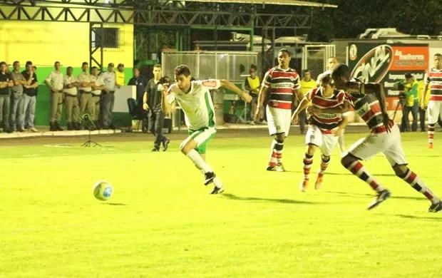 Luverdense vence Santa Cruz no Passo das Emas (Foto: Edivaldo Rios/ Assessoria Luverdense)