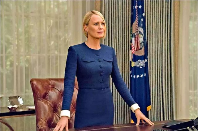 claire - Sem Kevin Spacey, 'House of Cards' perde o rumo